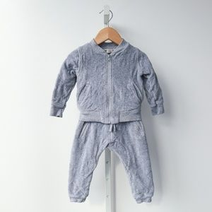 Monica + Andy Luxe Quilted Baby Tracksuit